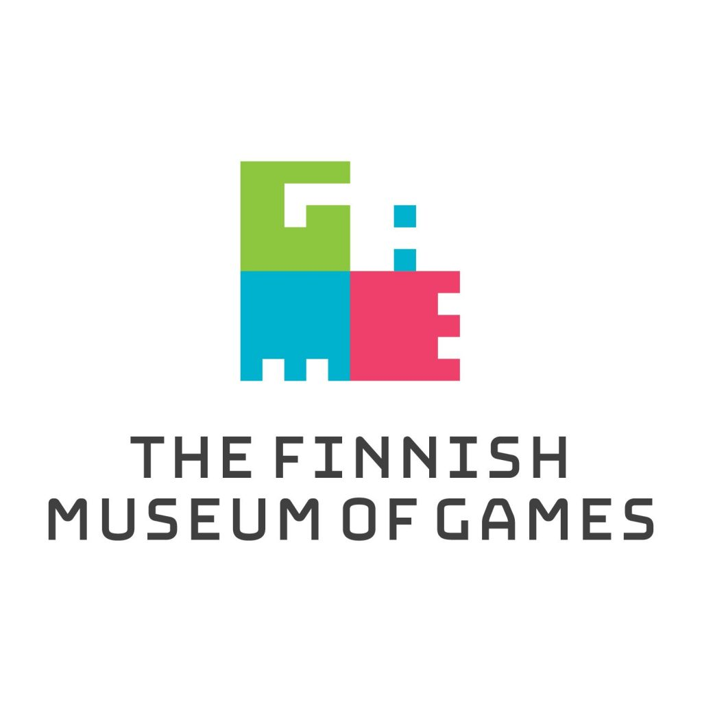 The Finnish museum of games logo